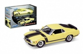 Welly.Сборная модель машинка металл 1:24 1970 FORD MUSTANG