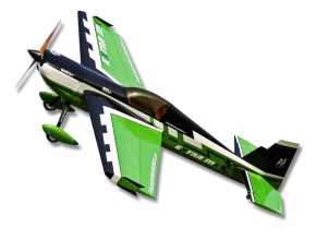 Самолет р/у Precision Aerobatics Extra MX 1472мм KIT (зеленый)