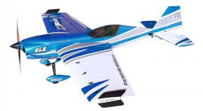 Самолет р/у Precision Aerobatics XR-61 1550мм KIT (синий)