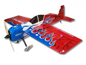 Самолет р/у Precision Aerobatics Addiction X 1270мм KIT (красный)