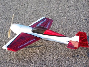 Самолет р/у Precision Aerobatics Katana Mini 1020мм KIT (красный)