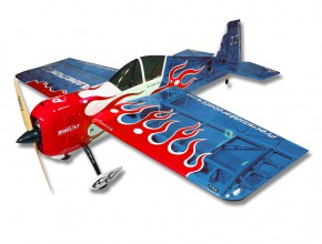 Самолет р/у Precision Aerobatics Addiction X 1270мм KIT (синий)