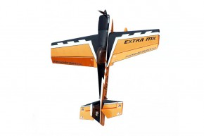 Самолет р/у Precision Aerobatics Extra MX 1472мм KIT (желтый)